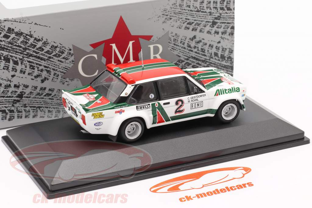 Fiat 131 Abarth #2 4e Rallye Monte Carlo 1978 Röhrl, Geistdörfer 1:43 CMR