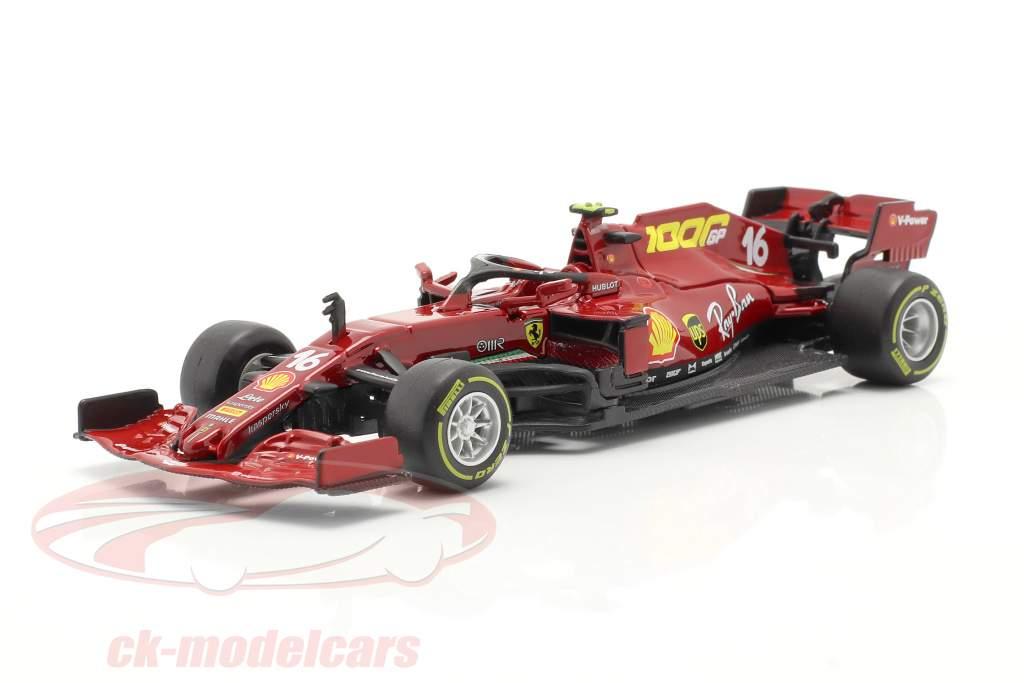 C. Leclerc Ferrari SF1000 #16 Milésimo GP Ferrari Toscana GP F1 2020 1:43 Bburago