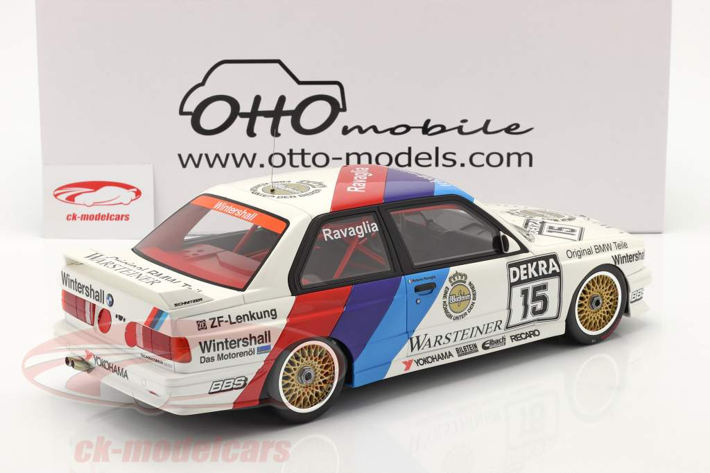 BMW M3 (E30) Sport Evolution #15 Winner DTM 1989 R. Ravaglia 1:12 OTTOmobile