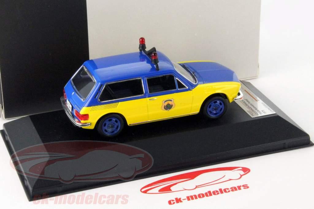 Volkswagen VW Brasilia polícia 1975 1:43 Premium X / 2 escolha