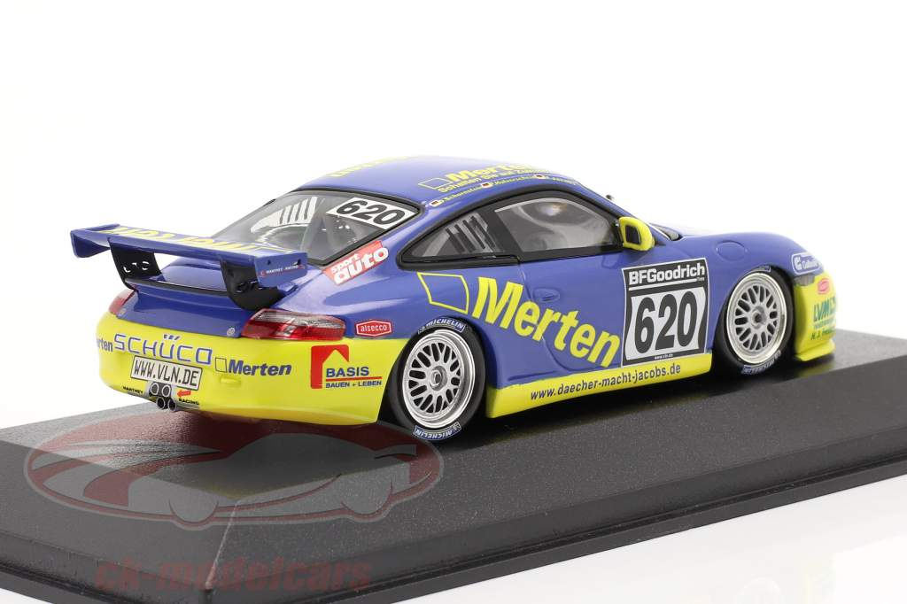 Porsche 911 GT3 #620 Dt. Campionato di resistenza `04 Hulverscheid, Jacobs 1:43 Minichamps