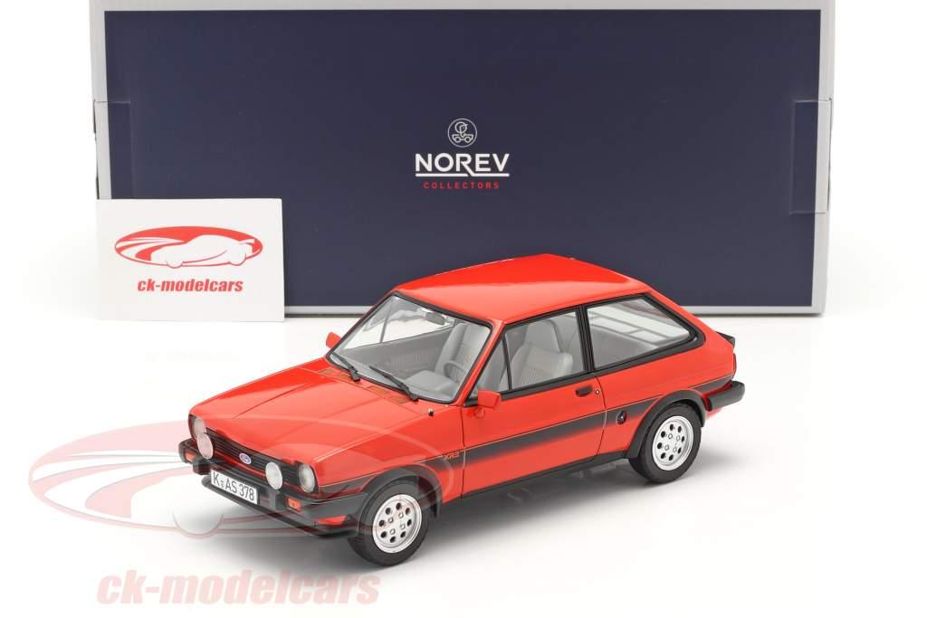 Ford Fiesta XR2 Baujahr 1981 rot 1:18 Norev