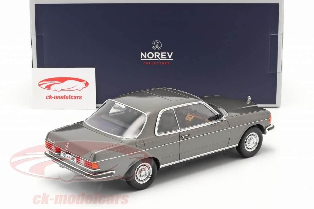 Mercedes-Benz E-Klasse 208CE (C123) Coupe Année de construction 1980 anthracite 1:18 Norev