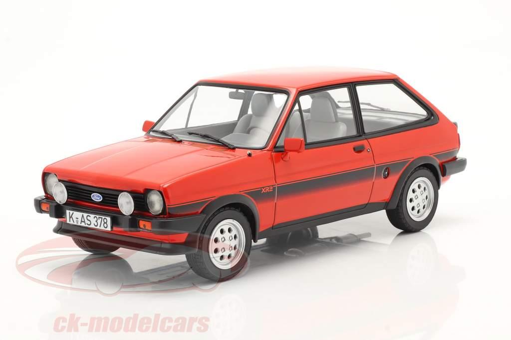 Ford Fiesta XR2 Año de construcción 1981 rojo 1:18 Norev