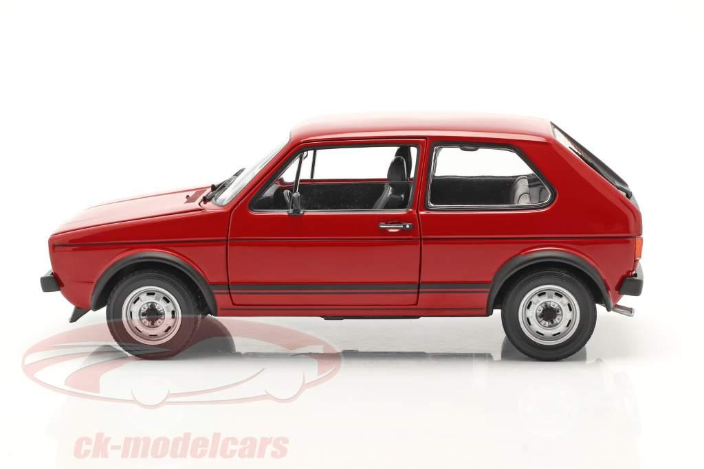 Volkswagen VW Golf I GTI Bouwjaar 1976 rood 1:18 Norev