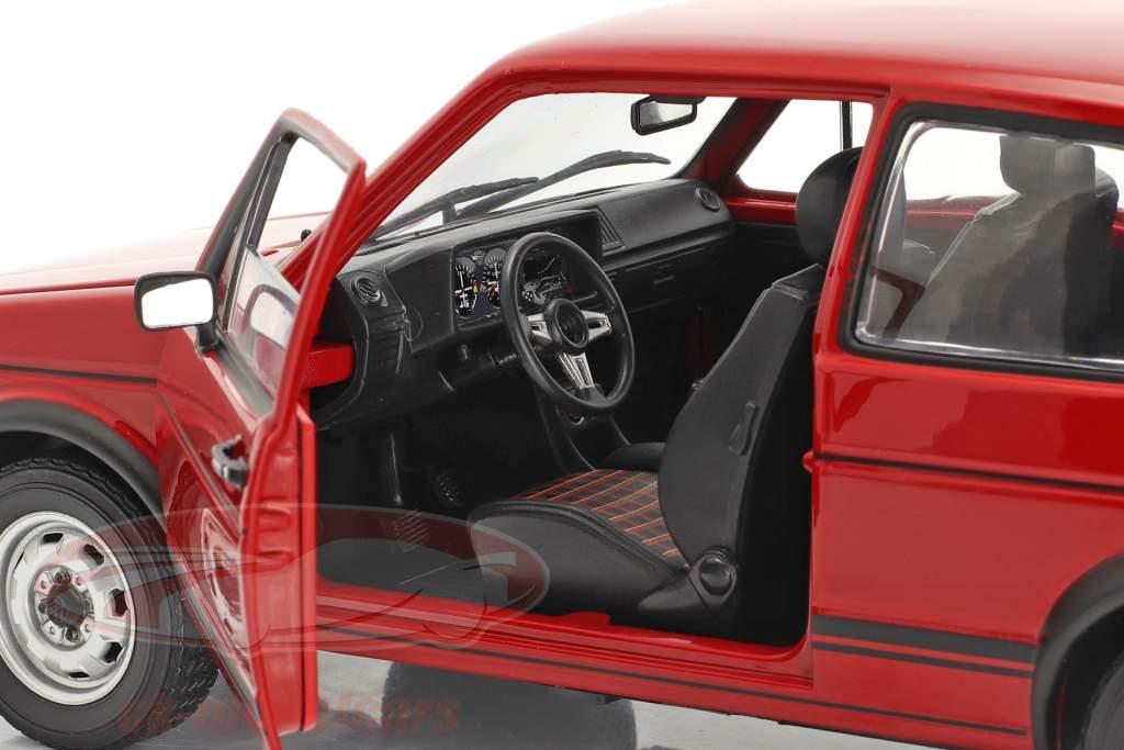 Volkswagen VW Golf I GTI Año de construcción 1976 rojo 1:18 Norev