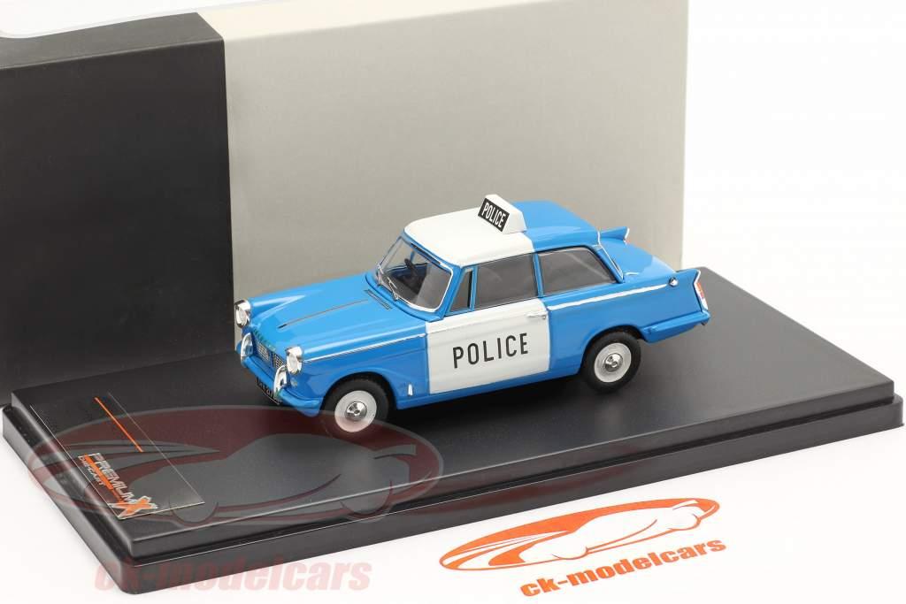 Triumph Herald Saloon britannico polizia 1962 1:43 Premium X