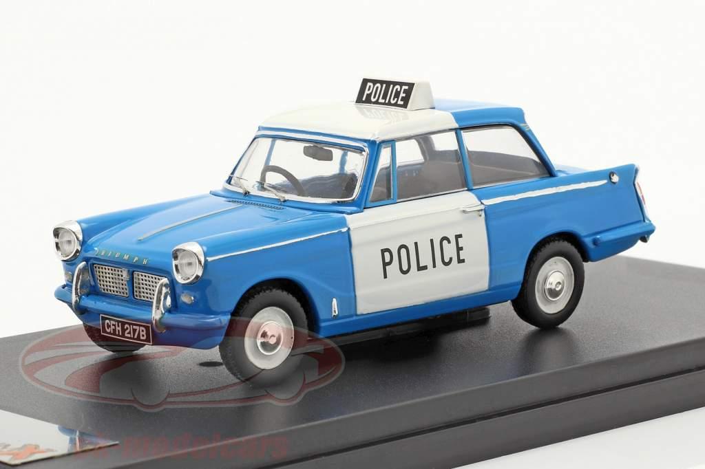 Triumph Herald Saloon britisk politi 1962 1:43 Premium X