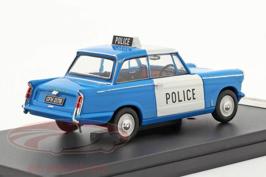 Triumph Herald Saloon británico policía 1962 1:43 Premium X
