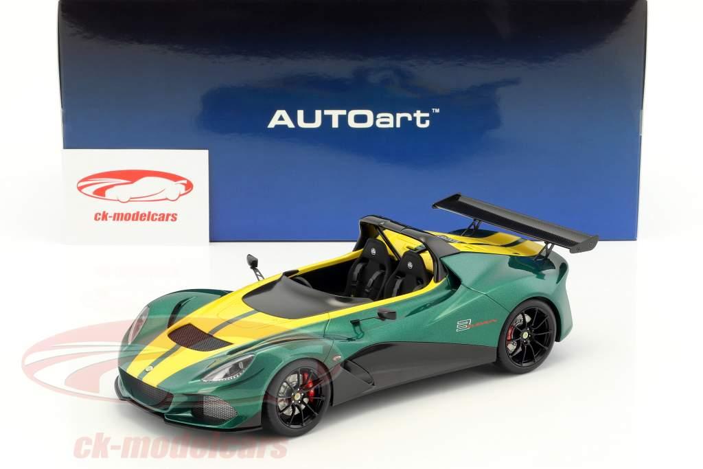 Lotus 3-Eleven grøn / gul 1:18 AUTOart