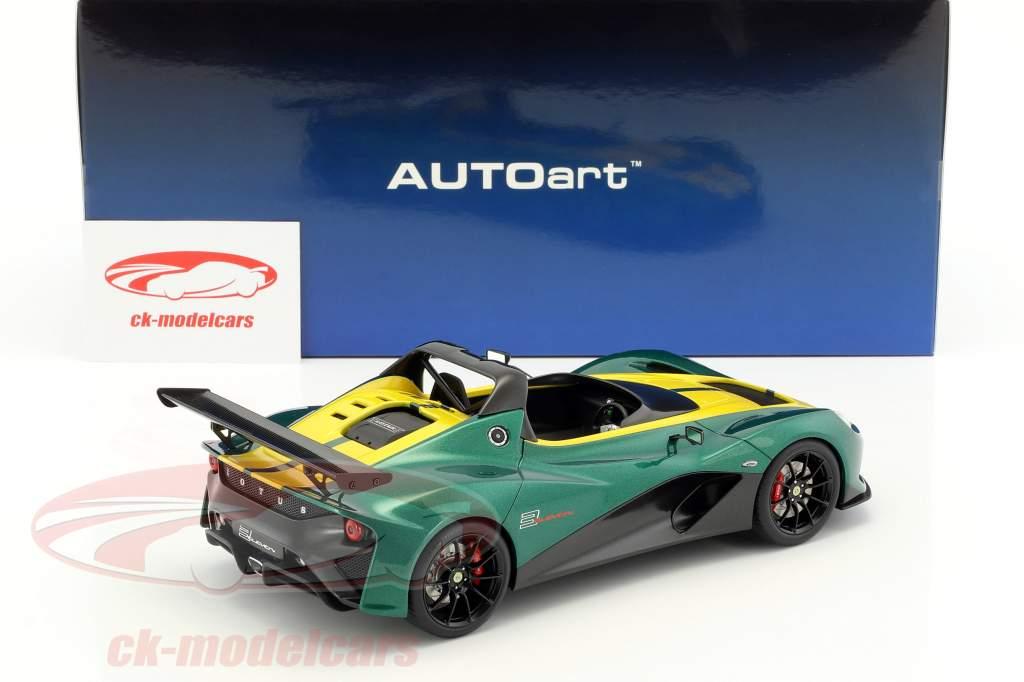 Lotus 3-Eleven verde / amarelo 1:18 AUTOart