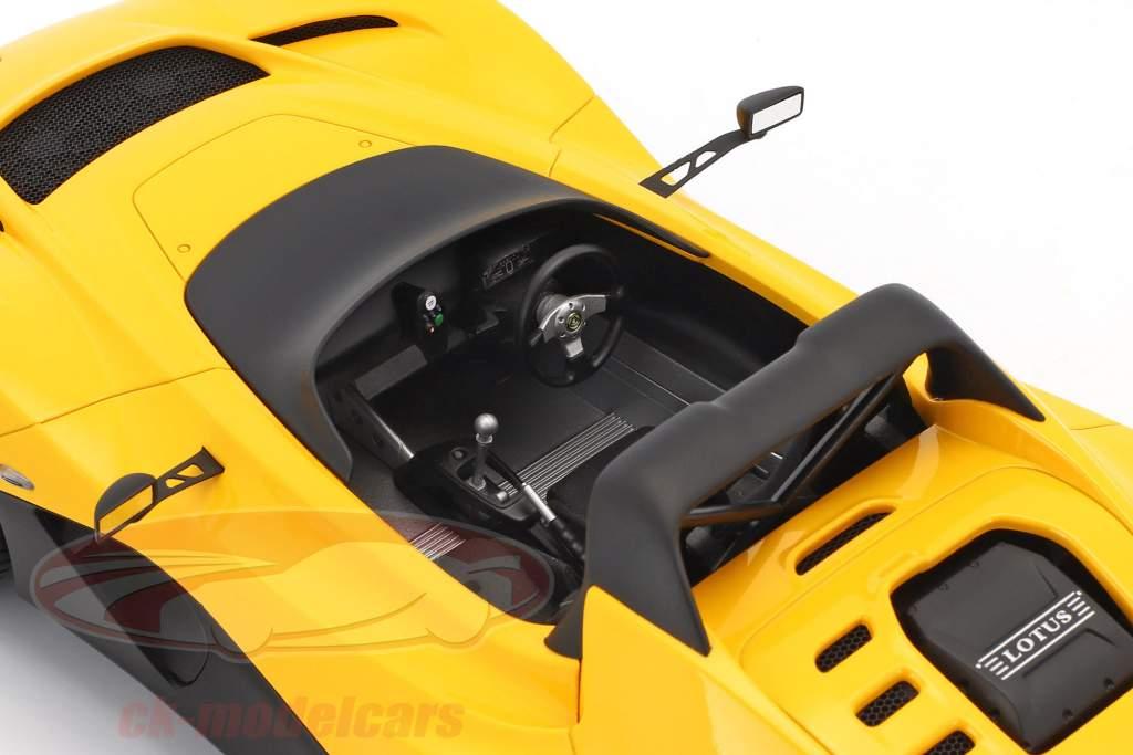 Lotus 3-Eleven Год постройки 2017 желтый 1:18 AUTOart