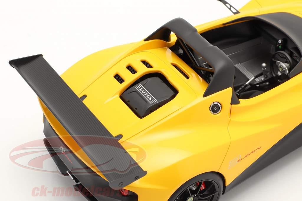 Lotus 3-Eleven Opførselsår 2017 gul 1:18 AUTOart