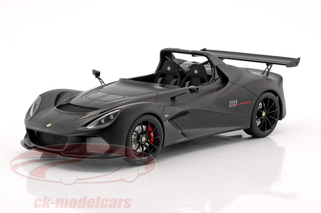 Lotus 3-Eleven mat zwart met glans accenten 1:18 AUTOart