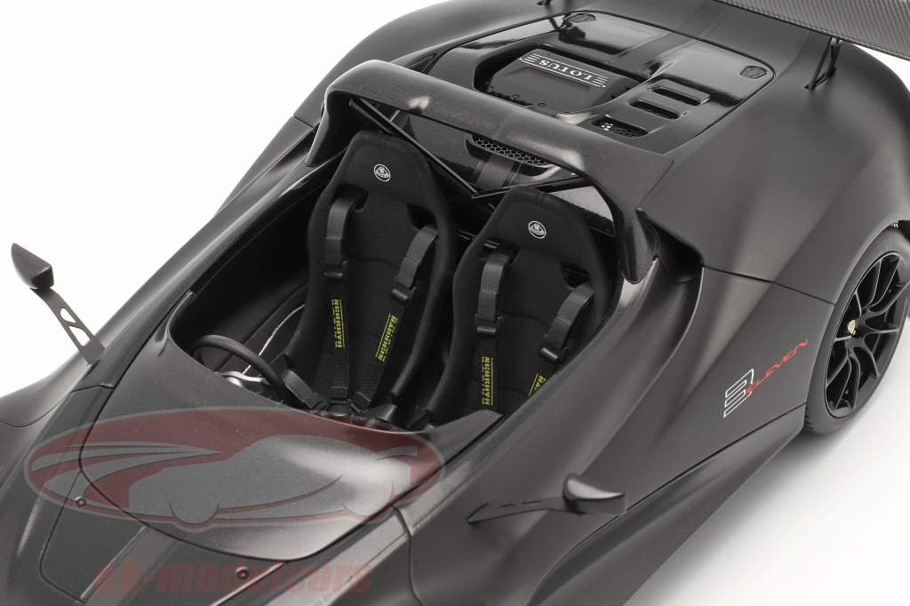 Lotus 3-Eleven tappetino nero con lucidare Accenti 1:18 AUTOart