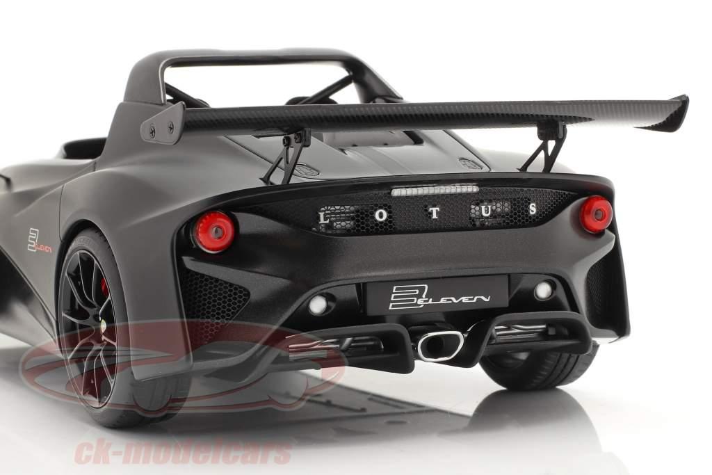 Lotus 3-Eleven estera negro con brillo acentos 1:18 AUTOart