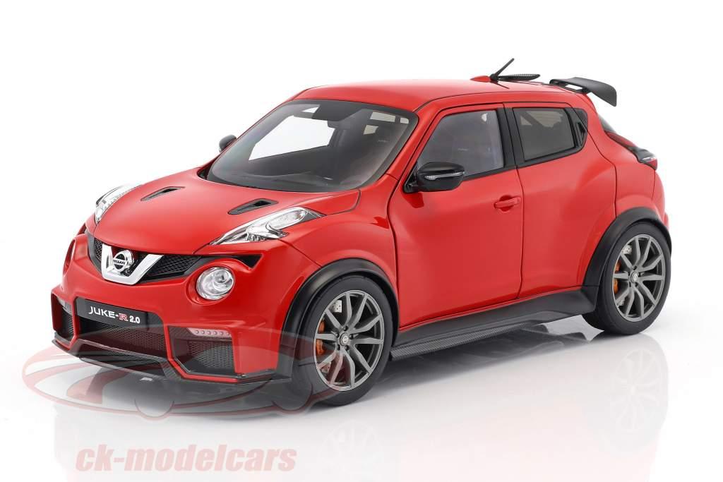 Nissan Juke R 2.0 Opførselsår 2016 rød 1:18 AUTOart