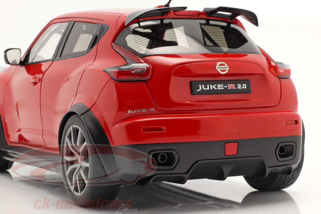 Nissan Juke R 2.0 Bouwjaar 2016 rood 1:18 AUTOart