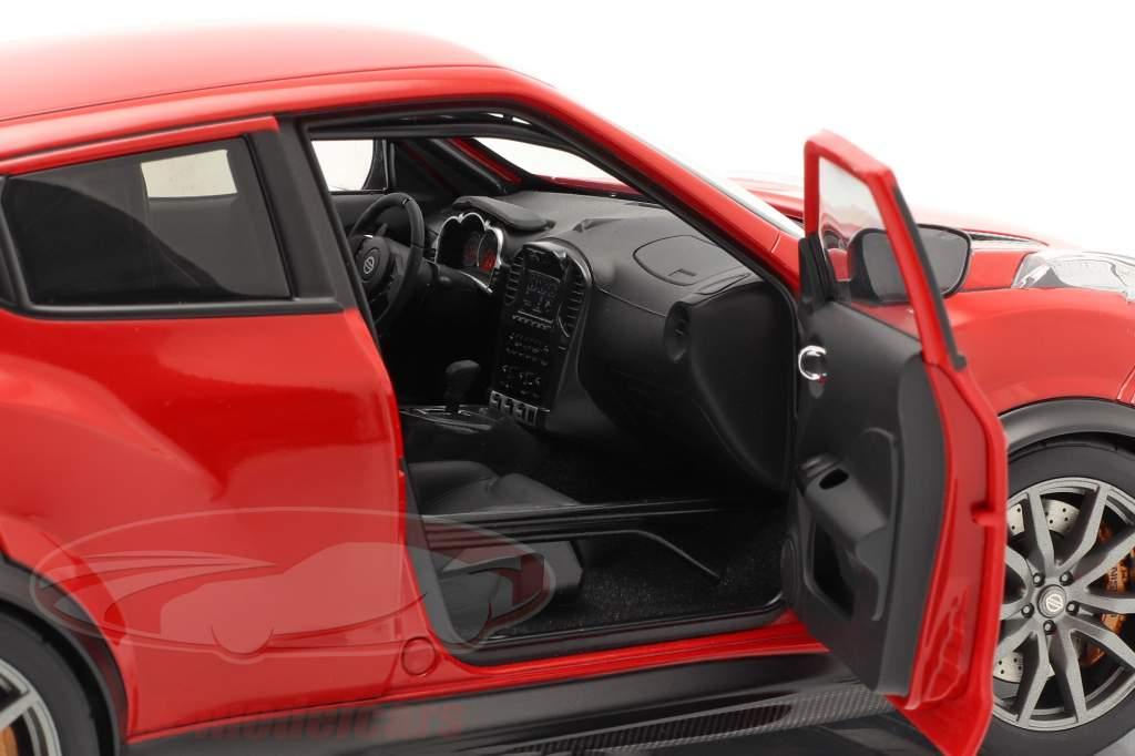 Nissan Juke R 2.0 ano de construção 2016 vermelho 1:18 AUTOart
