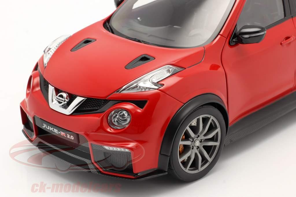 Nissan Juke R 2.0 año de construcción 2016 rojo 1:18 AUTOart