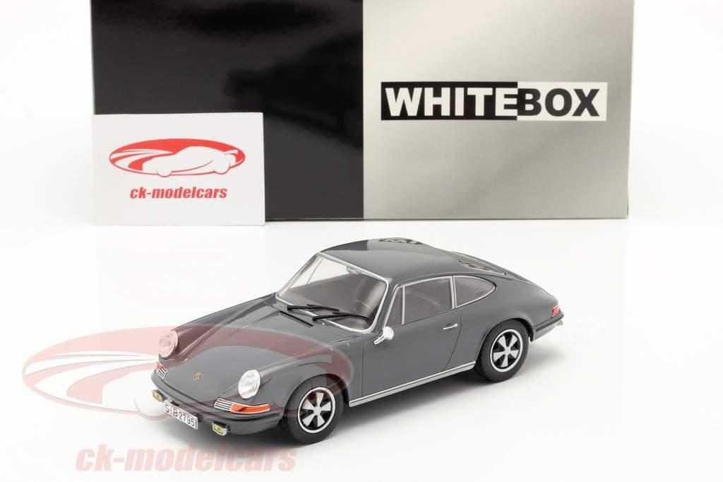 Porsche 911 S Bouwjaar 1968 Grijs 1:24 WhiteBox