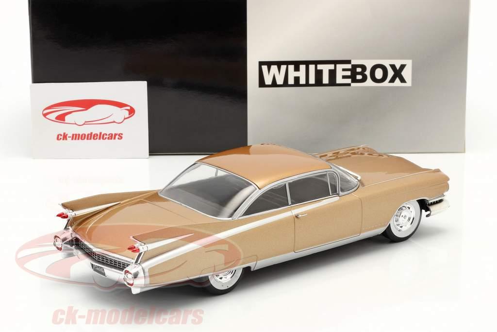 Cadillac Eldorado Ano de construção 1959 bronze 1:24 WhiteBox
