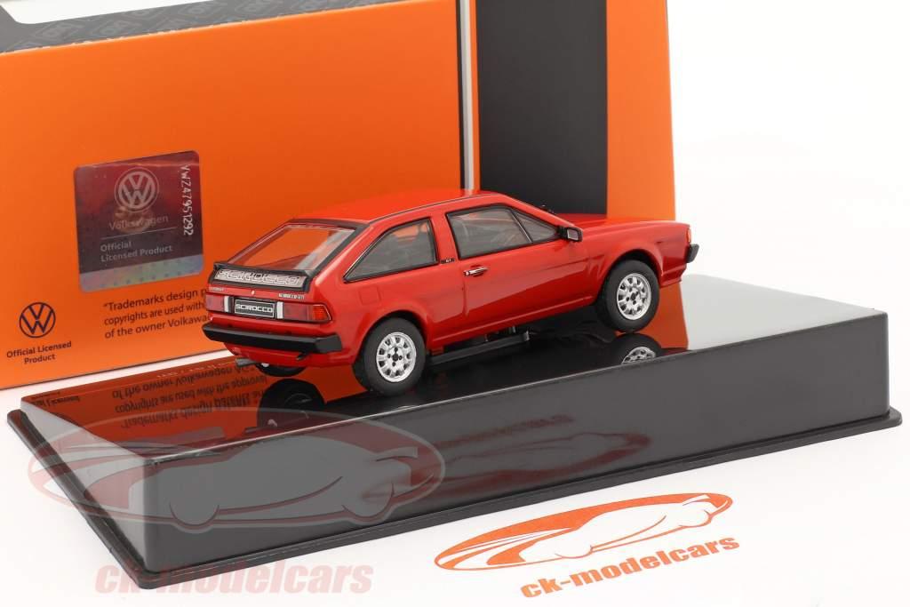 Volkswagen VW Scirocco II GT / GTI Byggeår 1981 rød 1:43 Ixo