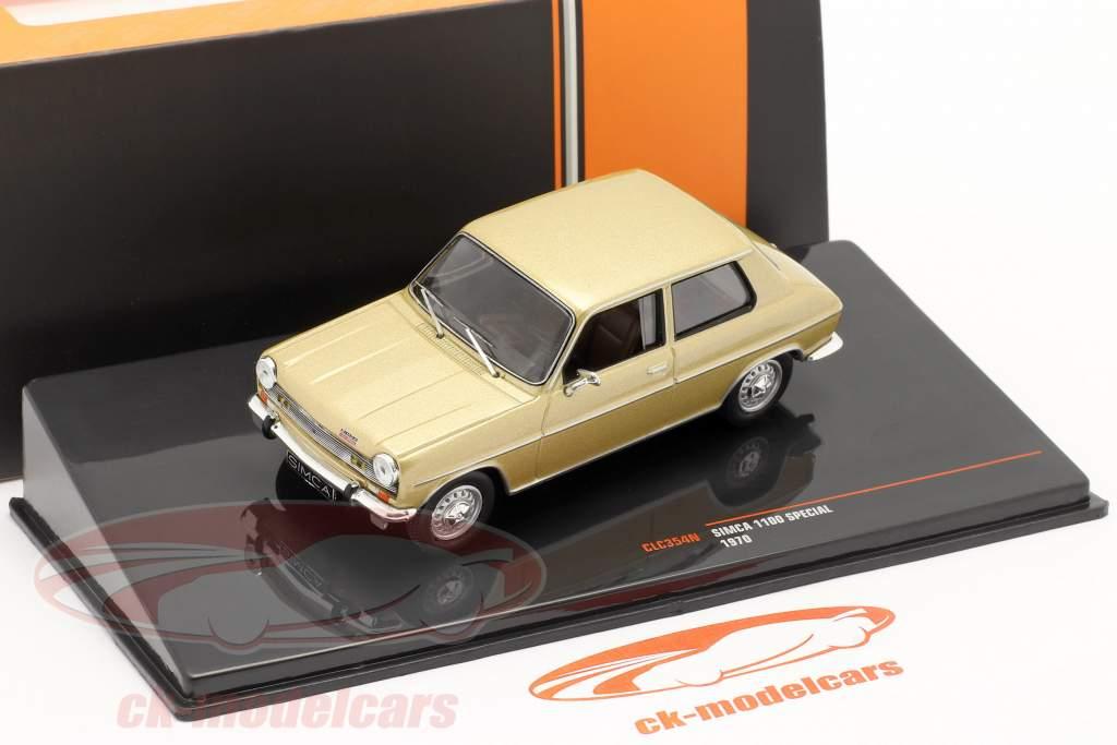 Simca 1100 Special Ano de construção 1970 ouro 1:43 Ixo