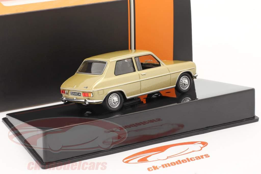 Simca 1100 Special Año de construcción 1970 oro 1:43 Ixo