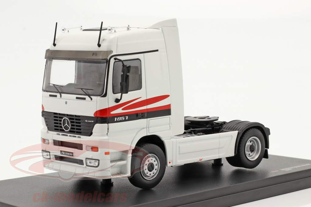 Mercedes-Benz Actros MP1 Bouwjaar 1995 Wit 1:43 Ixo