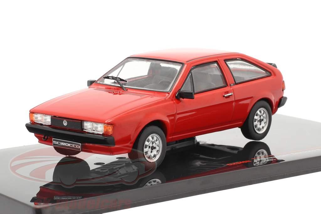 Volkswagen VW Scirocco II GT / GTI Ano de construção 1981 vermelho 1:43 Ixo