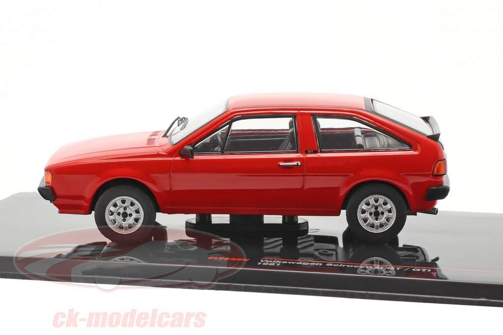 Volkswagen VW Scirocco II GT / GTI Baujahr 1981 rot 1:43 Ixo