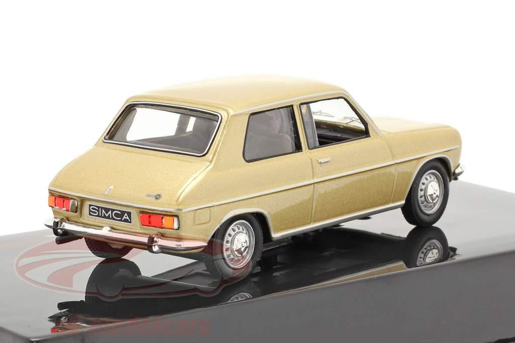 Simca 1100 Special Année de construction 1970 or 1:43 Ixo
