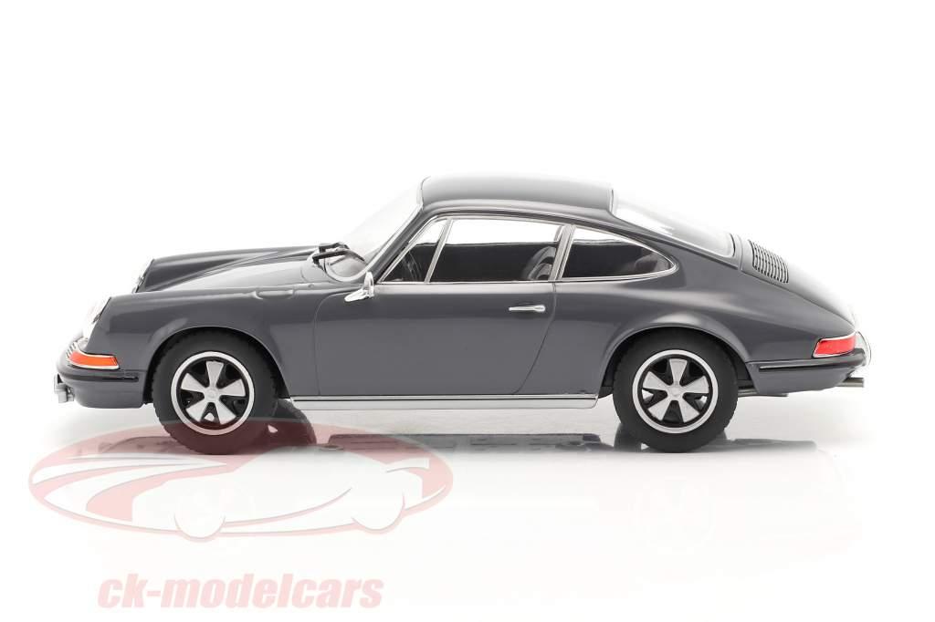 Porsche 911 S year 1968 grey 1:24 WhiteBox