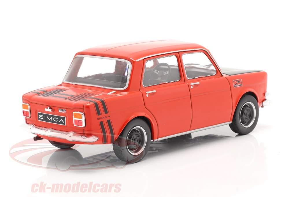 Simca 1000 Rally 2 year 1970 red / black 1:24 WhiteBox