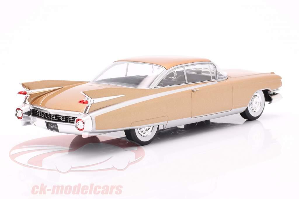 Cadillac Eldorado Bouwjaar 1959 bronzen 1:24 WhiteBox
