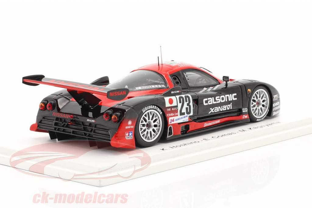 Nissan R390 GT1 #23 24h LeMans 1997 Hoshino, Comas, Kageyama 1:43 Spark