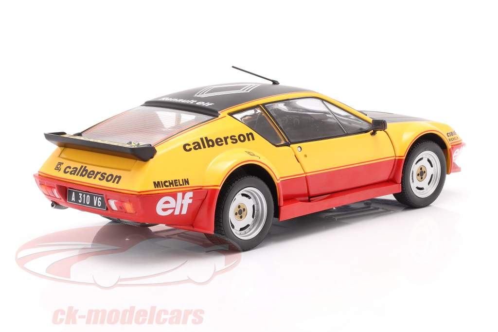 Renault Alpine A310 Calberson Evocation 1983 orange 1:18 Solido