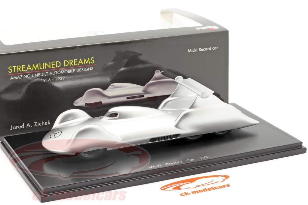 Mickl Record Car 1937 Jared A. Zichek 1:43 Spark /2. Wahl