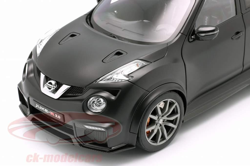 Nissan Juke R 2.0 año de construcción 2016 estera negro 1:18 AUTOart