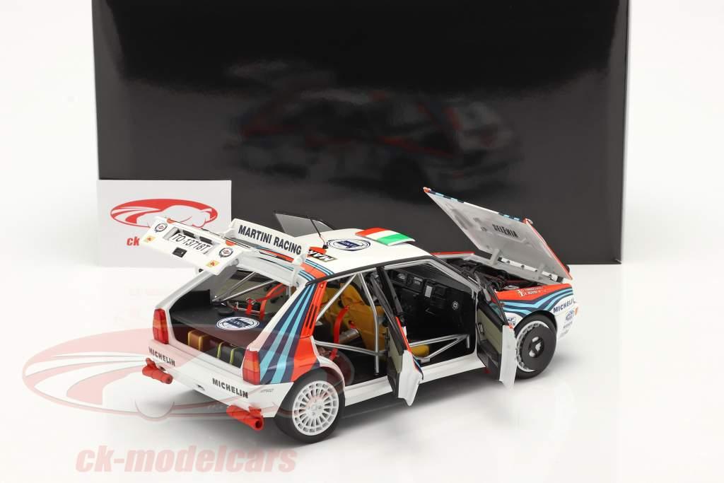 Lancia Delta HF Integrale #5 Sieger Rallye SanRemo 1992 1:18 Kyosho