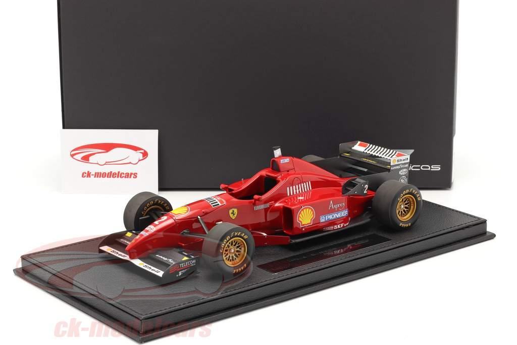 Eddie Irvine Ferrari F310 #2 formule 1 1996 Avec Vitrine 1:18 GP Replicas