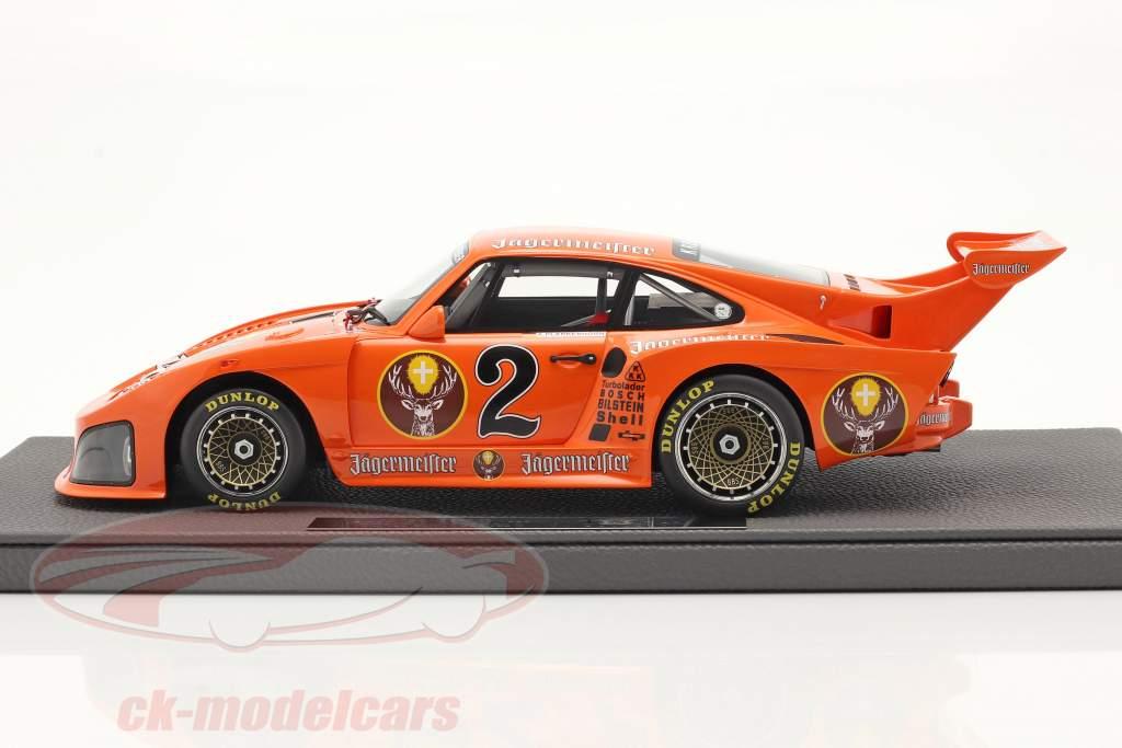 Porsche 935 K3 Jägermeister #2 DRM 1980 A. Plankenhorn 1:18 TopMarques
