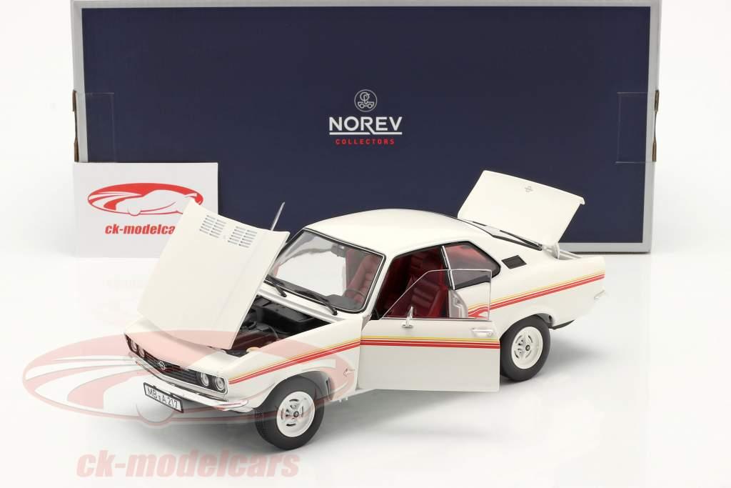 Opel Manta Swinger Baujahr 1975 weiß 1:18 Norev
