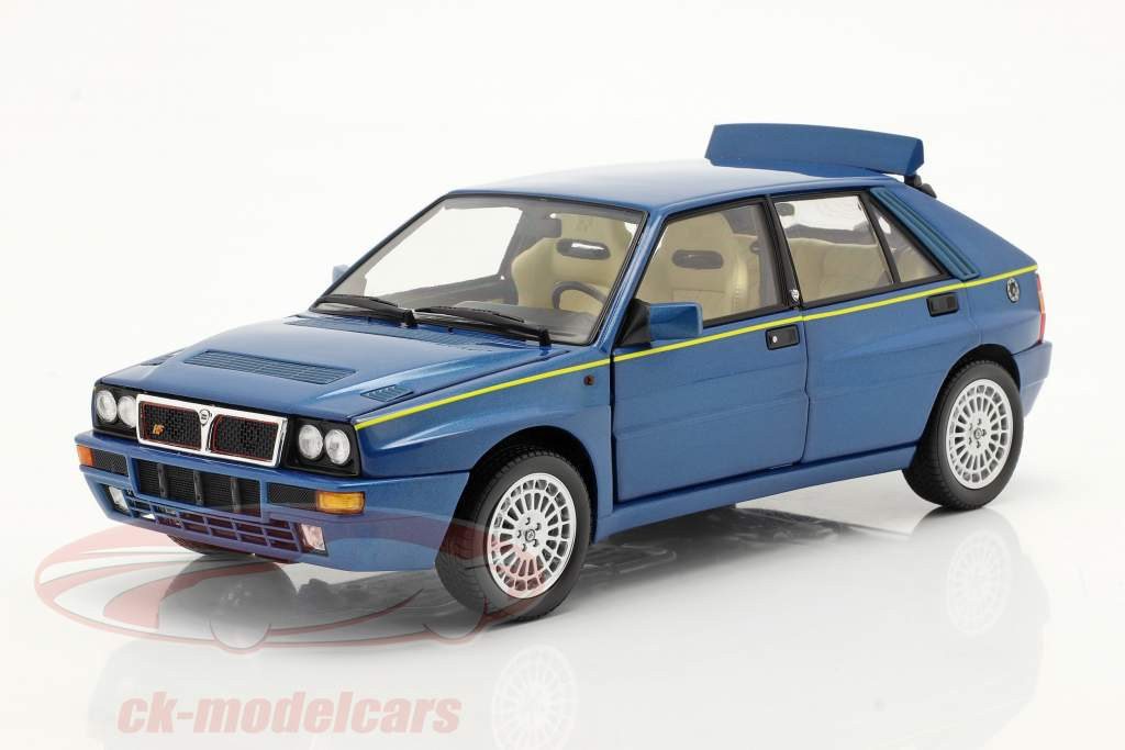 Lancia Delta HF Integrale Evo II Club HF 1994 Lagos bleu métallique 1:18 Kyosho