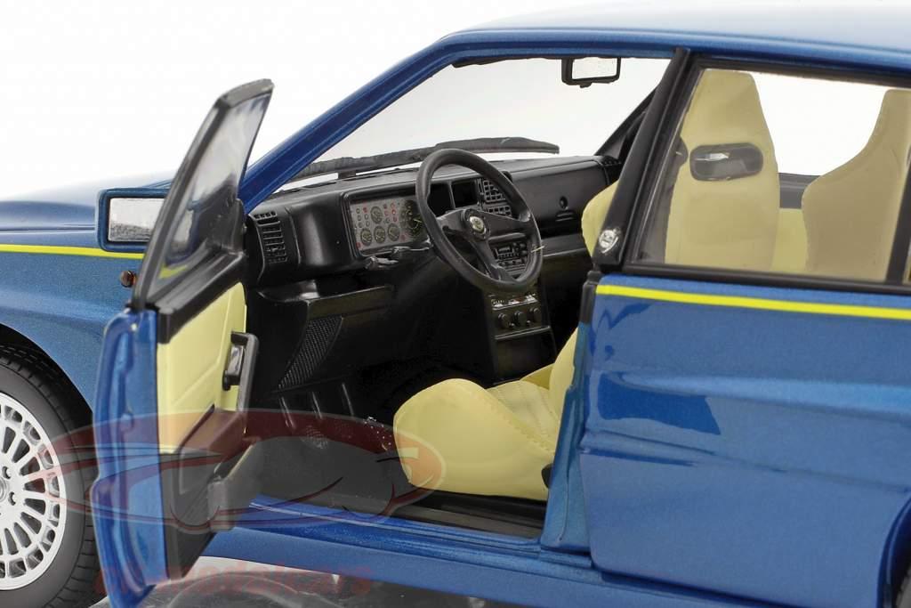 Lancia Delta HF Integrale Evo II Club HF 1994 lagos blau metallic 1:18 Kyosho