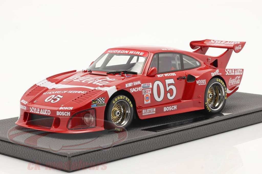 Porsche 935 K3 Coca-Cola #05 24h Daytona 1980 Akin, Woods, Rahal 1:18 TopMarques