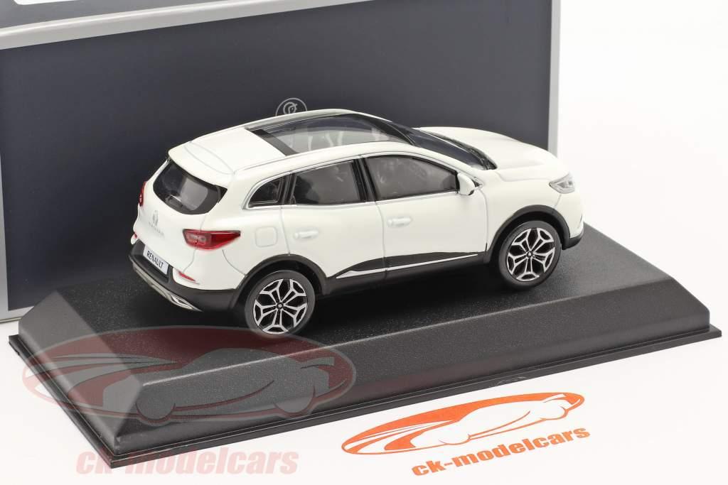 Renault Kadjar Bouwjaar 2020 parel wit 1:43 Norev