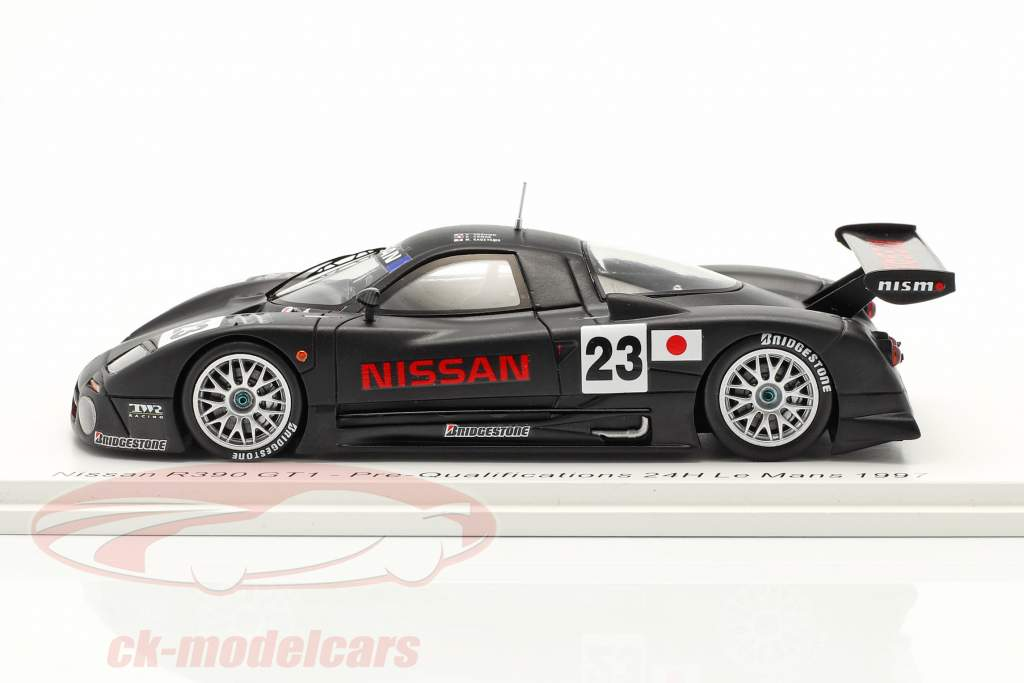Nissan R390 GT1 #23 Prækvalifikationer 24h LeMans 1997 1:43 Spark
