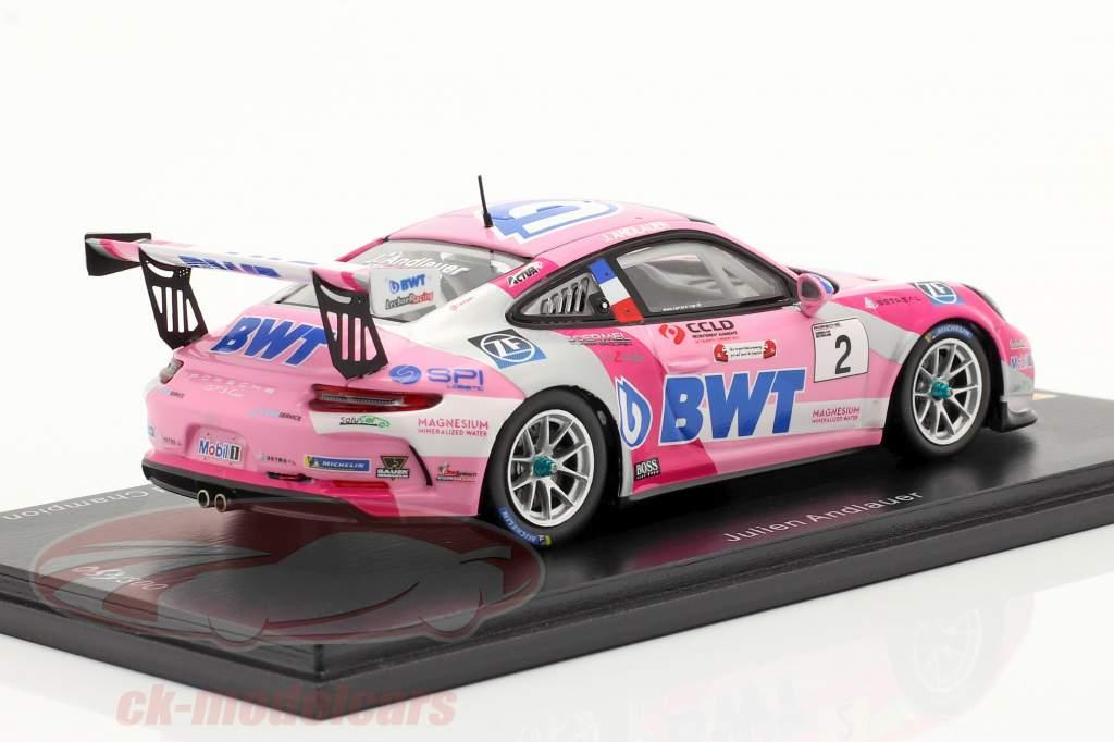 Porsche 911 GT3 Cup #2 PCCG Champion 2019 Julien Andlauer 1:43 Spark